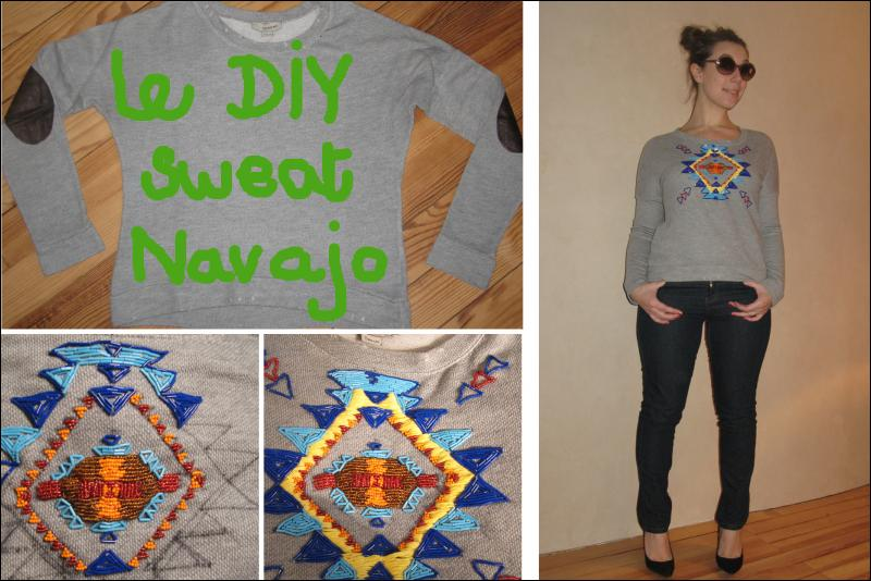 DIY: Le sweat Navajo